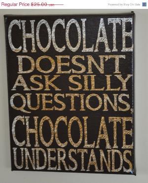i love you chocolate.