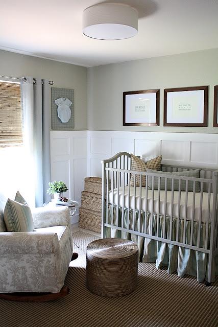 beautiful, neutral, non-babyish nursery