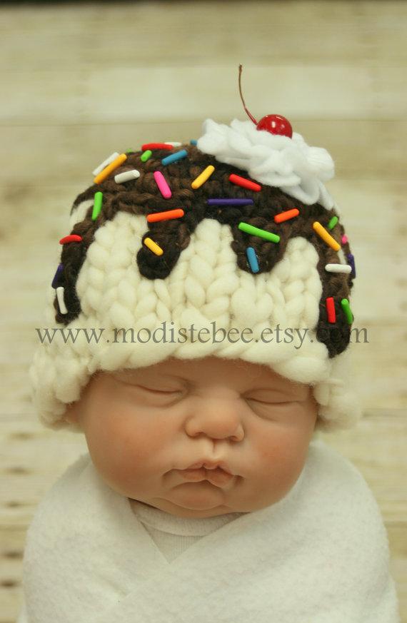 Ice Cream Sundae Hat- Presh!