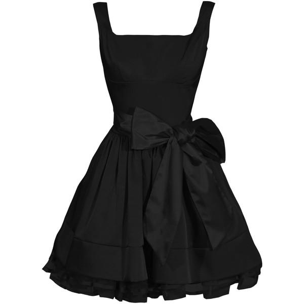 The Unique Little Black Dress::Evening dresses::DRESSES&