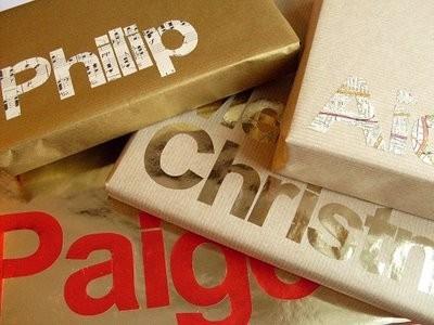 Gift wrap christmas