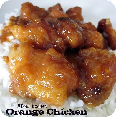 Slow cooker orange chicken  Freezer Meals For Us: Meals under $6.