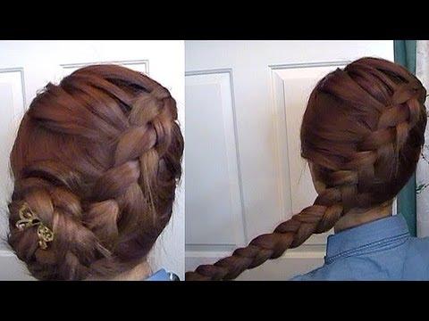 The Hunger Games Katniss Dutch Braid + Spring LowDo #hair #DIY #tutorial