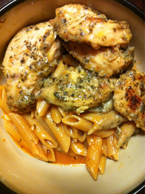 Another pinner said: Re-repinning this because I made it for dinner tonight and