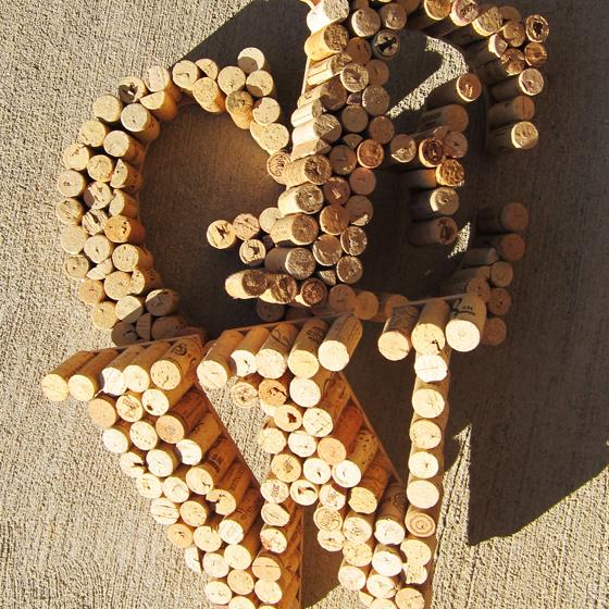 Wine Cork Wedding Decor