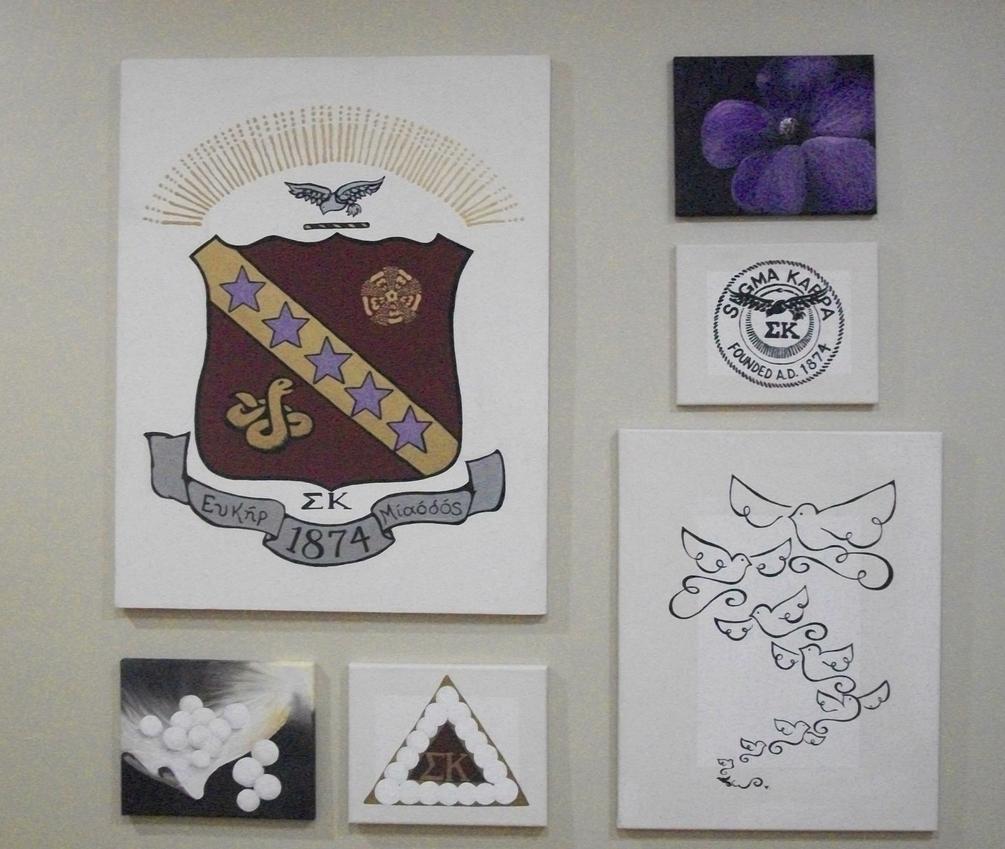 Sigma Kappa art :)