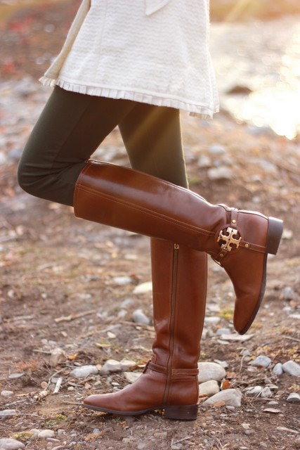 Fall riding boots