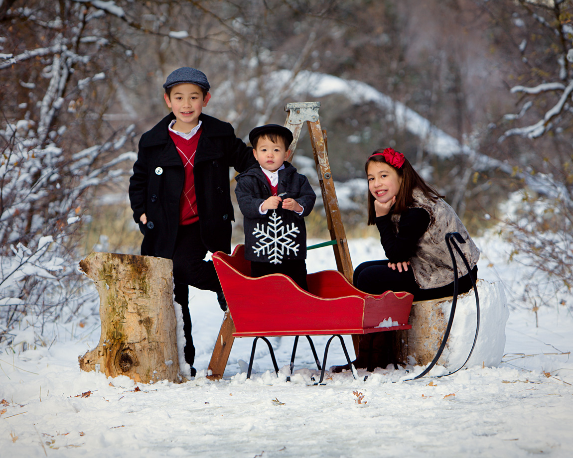 Outdoor Christmas Picture Ideas For Kids Download