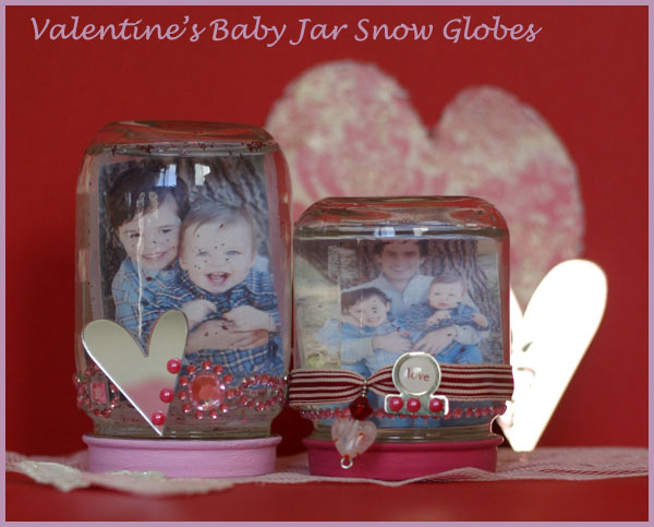 DIY Picture snow globes