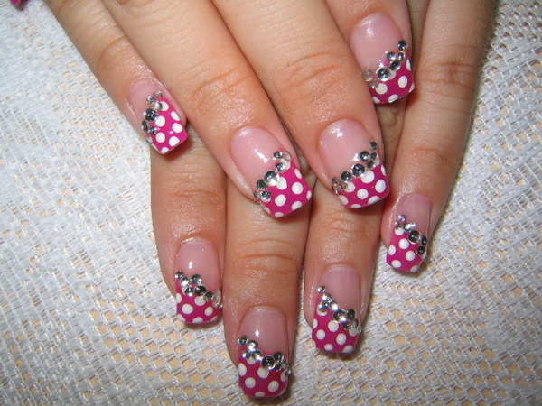 Really pretty, good fun, girly, would really like to take on holiday type nails.