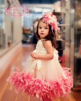 Adorable Birthday dress for pictures