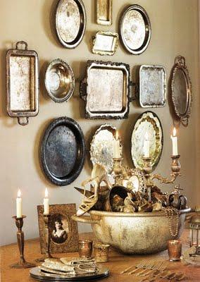 Thrift store platters!