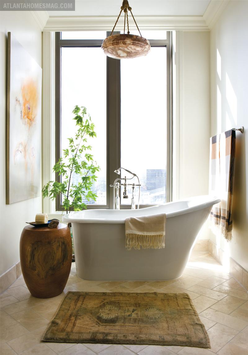 Nice cozy bathroom corner–GAME CHANGER | Atlanta Homes & Lifestyles