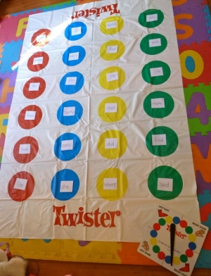twister sight words