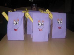 Dora the Explorer goody bags :)