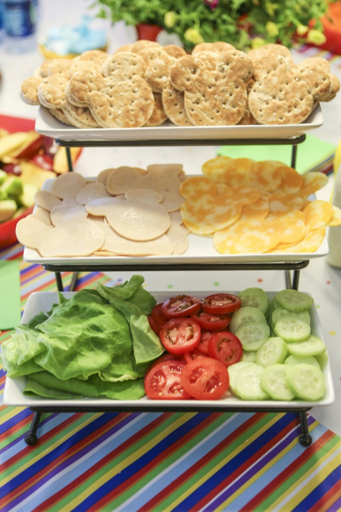 Mickey sandwiches – Disney baby shower food