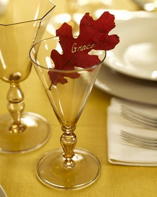 decorology: Really cute and easy DIY ideas for your Thanksgiving table