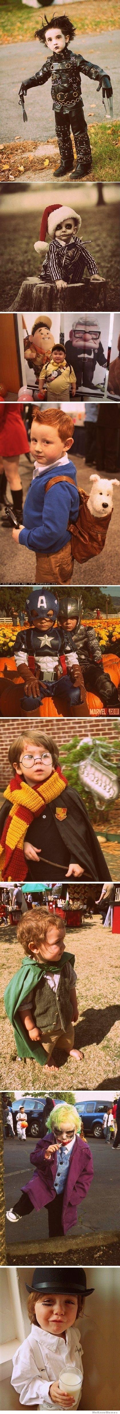 Kid movie costumes. So cute!