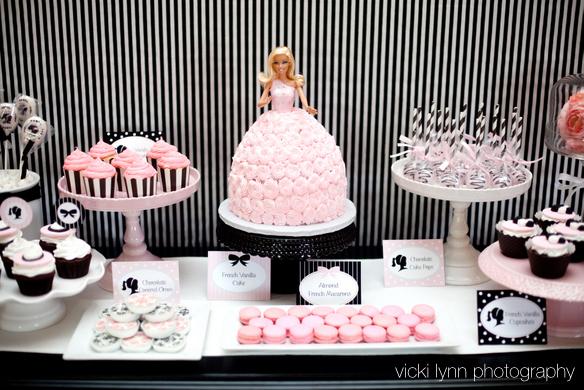 Barbie in Paris Birthday!  Adorable!