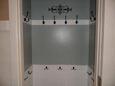 coat closet….more likely to hang coats in here than on a hanger…..so much ea