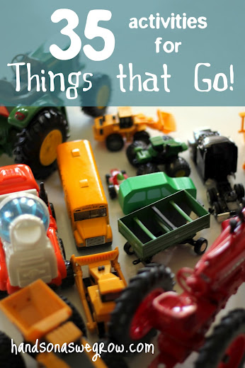 35 activities for 'Things that Go!'  Quite a few that use the vehicl