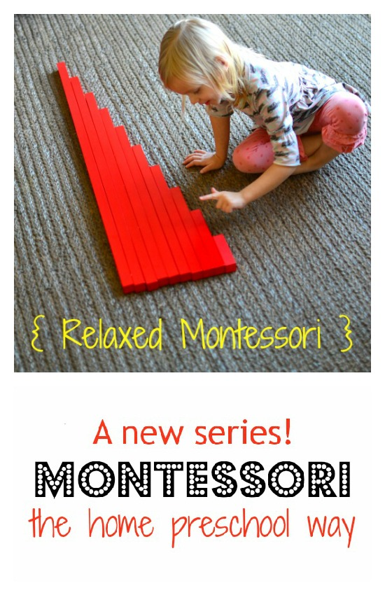 Find out how we use Montessori in our home preschool setting in both traditional