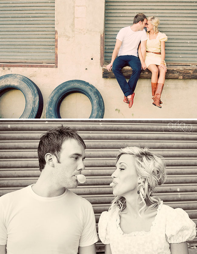 Cutest Engagement pictures.