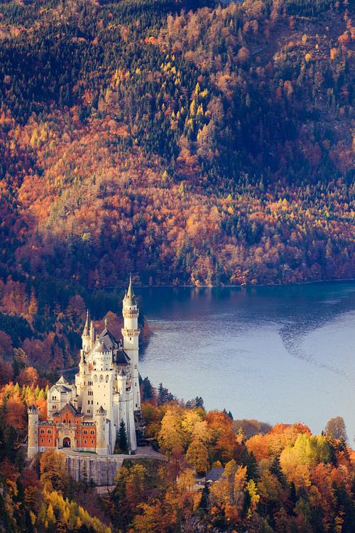 Neuschwanstein Castle, Allgau, Bavaria, Germany by Floydian