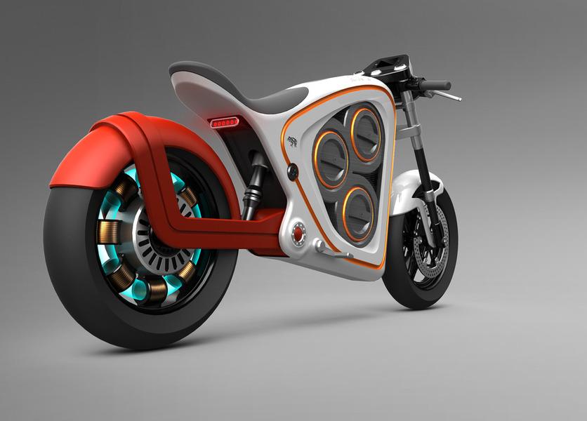 Nice electric bike concept