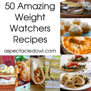 50 Weight Watchers Recipes to Help You with Your Weight Loss | A Spectacled OwlA