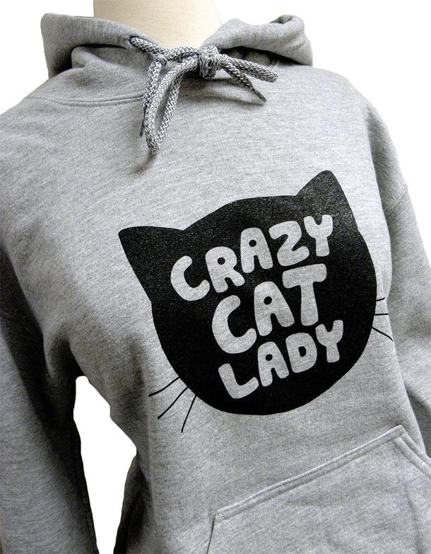 Crazy-Cat-Lady-Hoodie-CAT-Silhouette-Grey-Sweatshirt