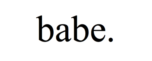 babe.