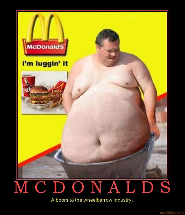 Funny Mcdonalds Fat Guy