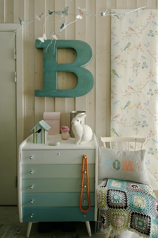 painted Ikea dresser