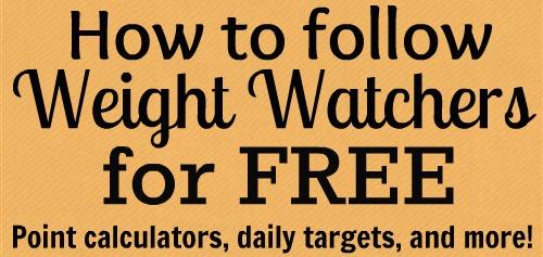Weight Watcher links