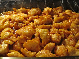 apparently this is so addicting (baked sweet and sour chicken). everyone loves i
