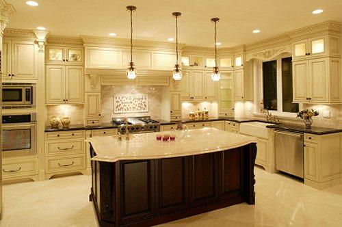 Nice kitchen lighting