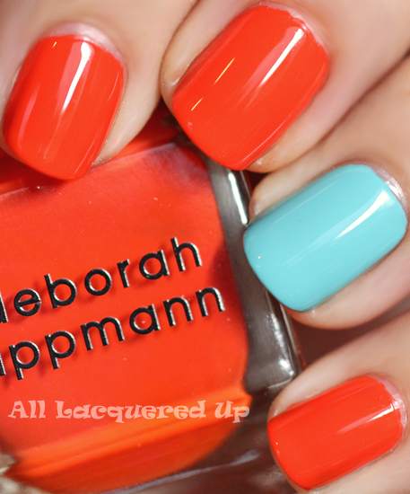 Lovin' the accent nail…any fun color ideas?