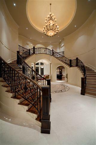 Showcase Luxury House plan designs, blueprints for high end luxury estate homes,