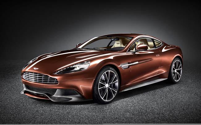 I love GT cars. I hope we get to see 007 in this car. 2013 Aston Martin Vanquish