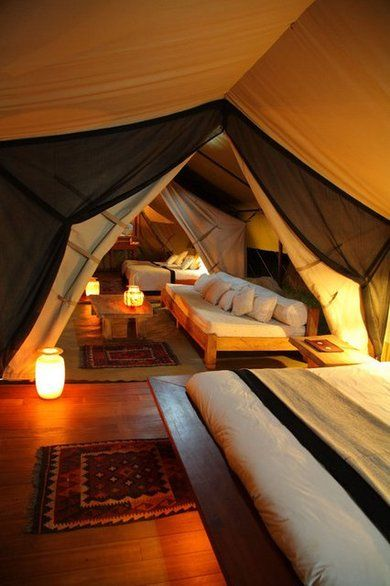 Turn Your Attic Into A Year-Round Camp Ground! – Such a gorgeous treatment for a