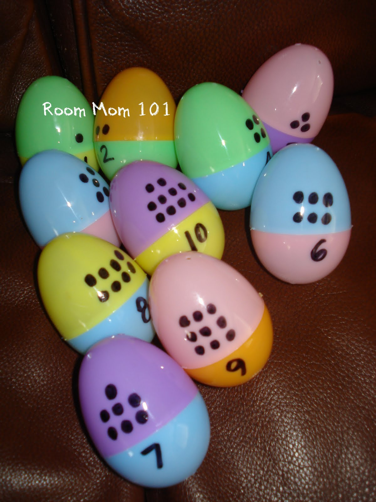 Number Egg Matching Activity