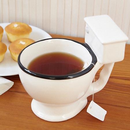 Hilarious Toilet Shaped Mug Cup