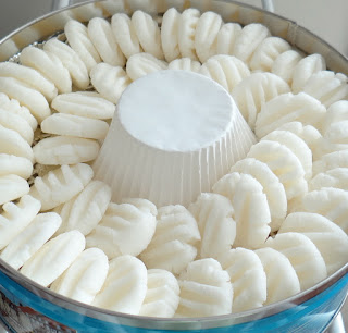 Homemade cream cheese mints These are amazing! Made them last Christmas!!- must