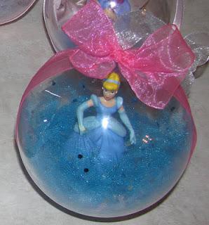 DIY Disney Christmas Ornaments