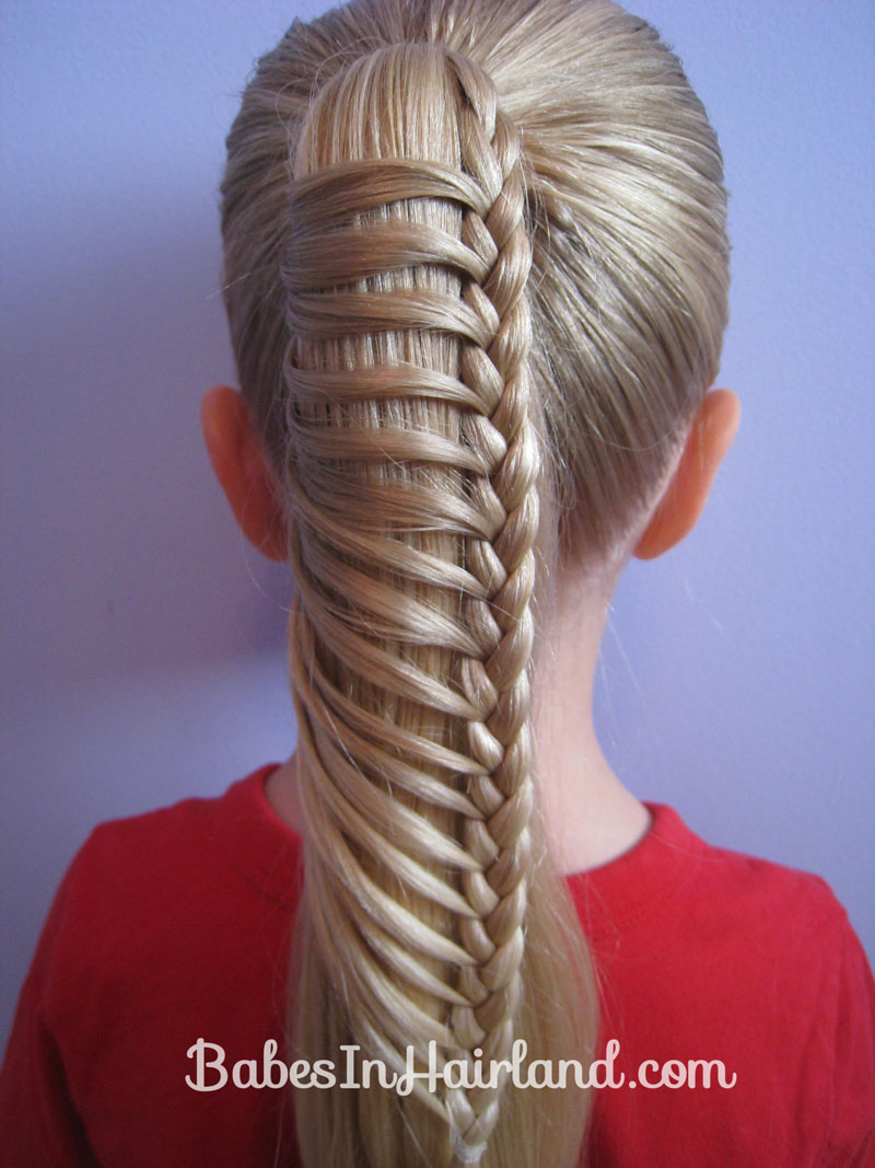 Ladder Braid Someone needs to try this on African American hair. This is unique
