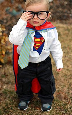 Clark Kent – Superman. Costume.
