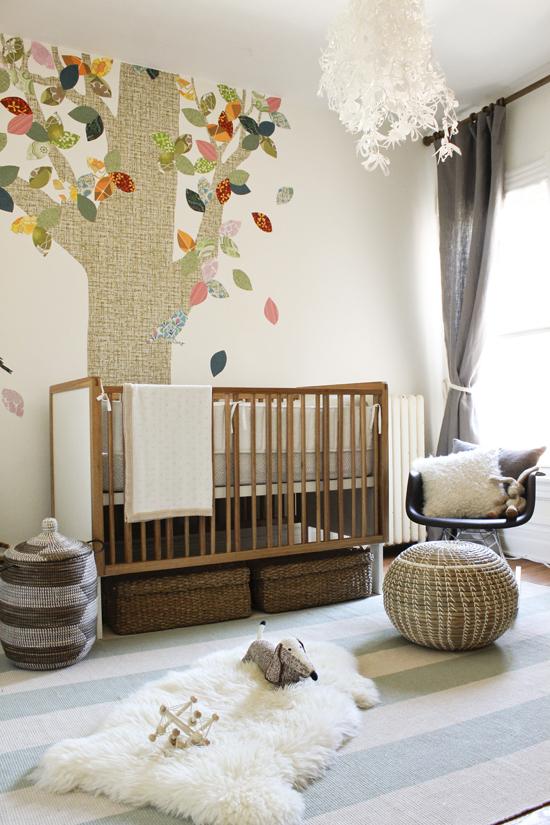 neutral nursery. Beautiful.