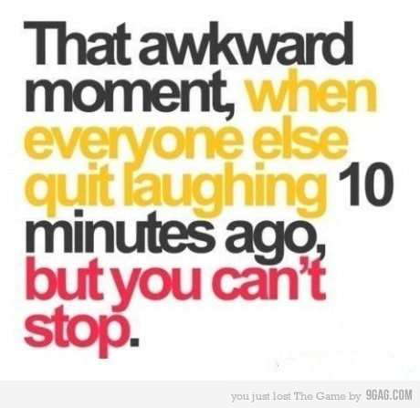 All the time in school !