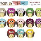 Owl Clip Art!!  So Cute!  :)